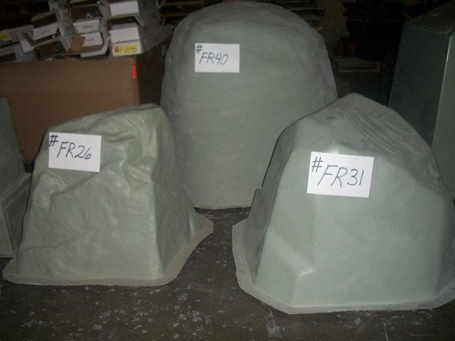 Well pump house covers for Fiberglass well house